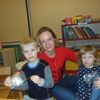 Ruošiamės Kalėdoms kartu su mamytėmis