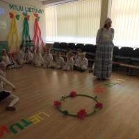Viktorina apie Lietuvą kartu su lopšelio-darželio